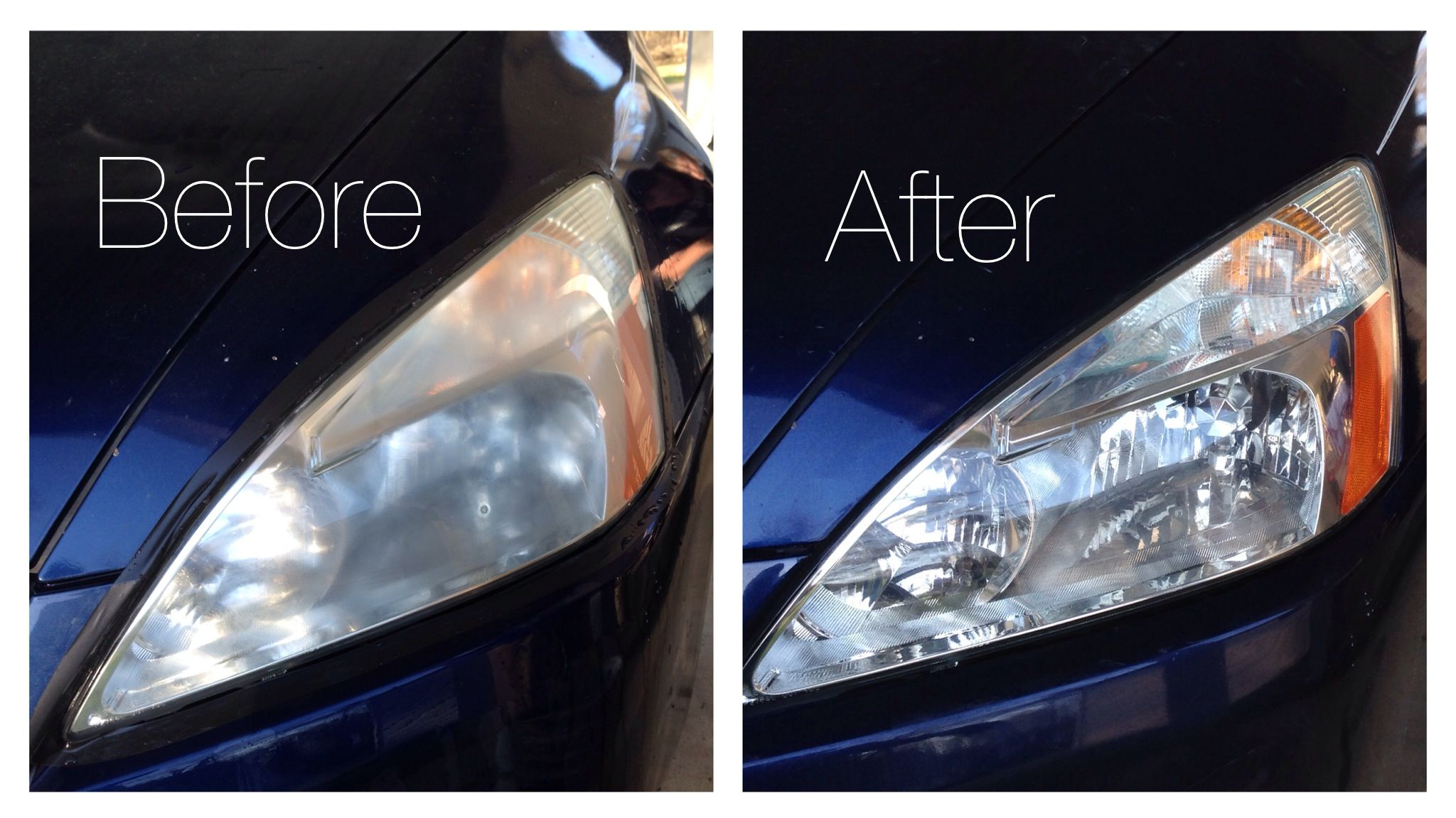 Mobile Headlight Restoration Services Headlight Cleaning Service
