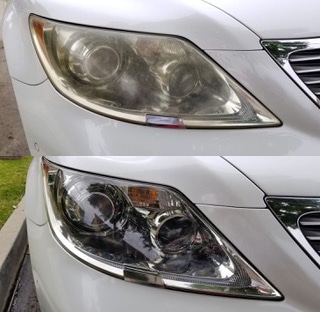 Mobile Headlight Restoration Services | Headlight Cleaning